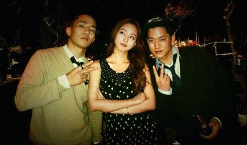 Sangchu and Han Ye Seul