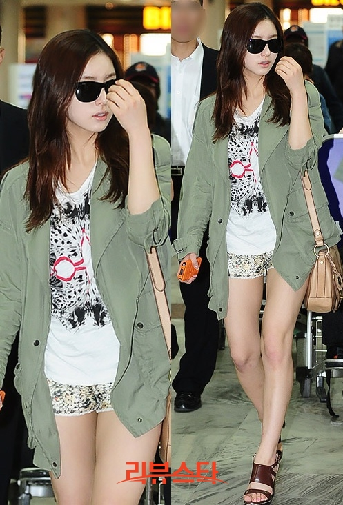 Shin Se Kyung's Airport Fashion   Soompi