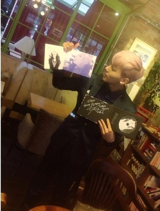 MYNAME Insoo holding Junsu Signed Album