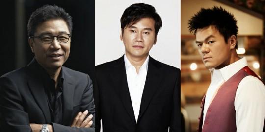 SM YG JYP Entertainment Agencies