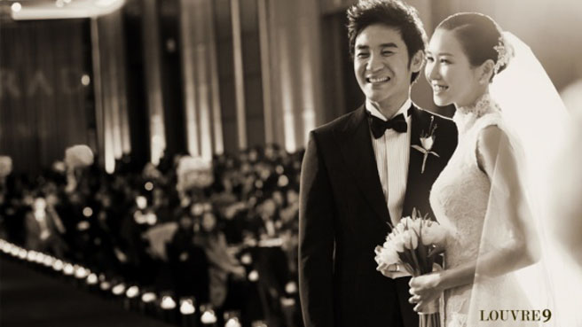 Uhm Tae Woong & Yoon Hye Jin's Star Studded Wedding