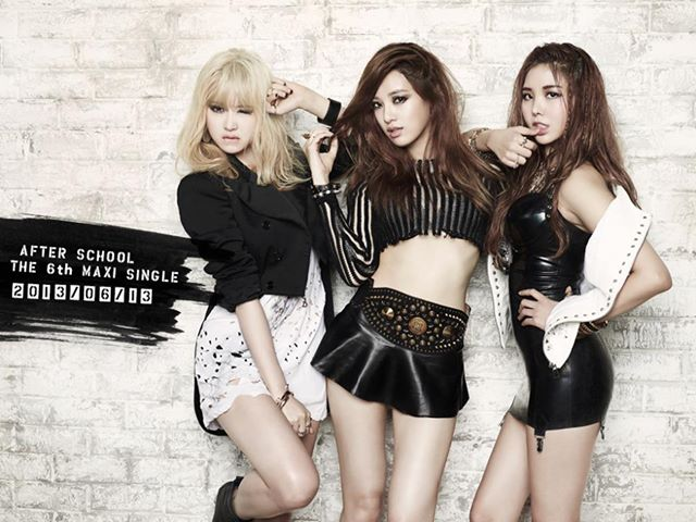 after school e-young, juyeon, raina