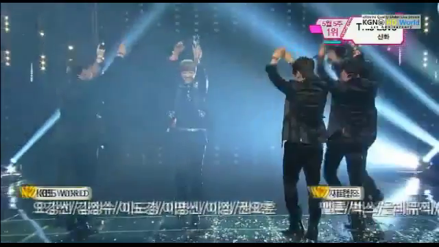 "KBS Music Bank 05.31.13 – Shinhwa's First Win with ""This Love"""