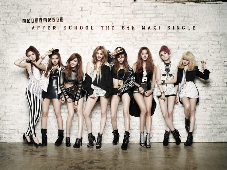 After School Reveals a Sexy Group Teaser Picture from Upcoming MV