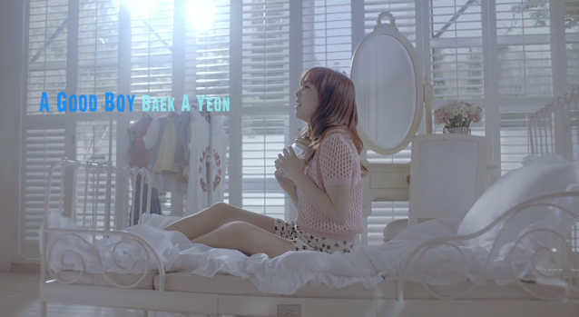 """A Good Boy"" Makes Baek A Yeon's Heart Flutter in New Music Video"