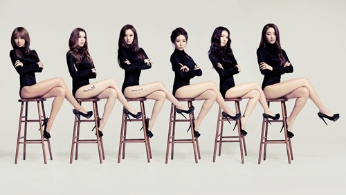 Dal Shabet Members are All Legs in Album Teaser Photo