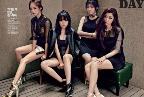 Girl's Day's Sexy Photoshoot Revealed!