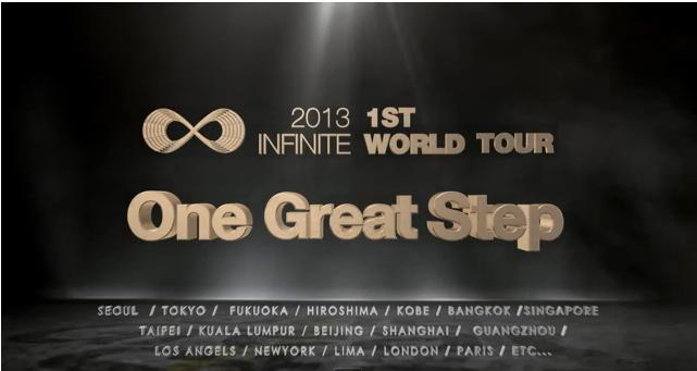 INFINITE One Great Step Screencap