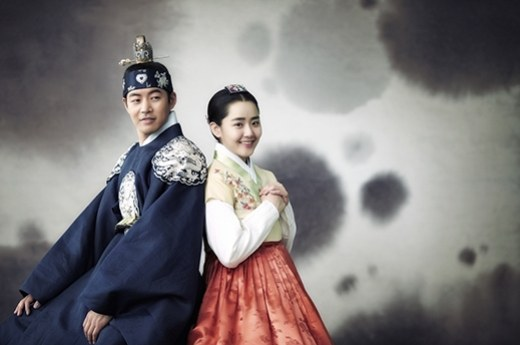 "Moon Geun Young and Lee Sang Yoon Are a Sweet Couple in ""Goddess of Fire"" Stills"