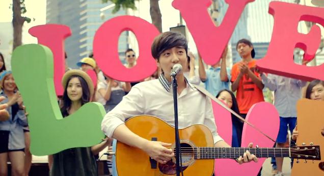 Roy Kim Love Love Love mv