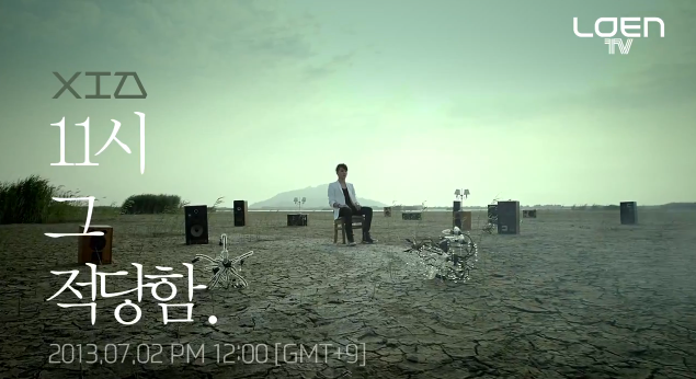 "Junsu (XIA) Releases Teaser MV and Image for ""11AM"""