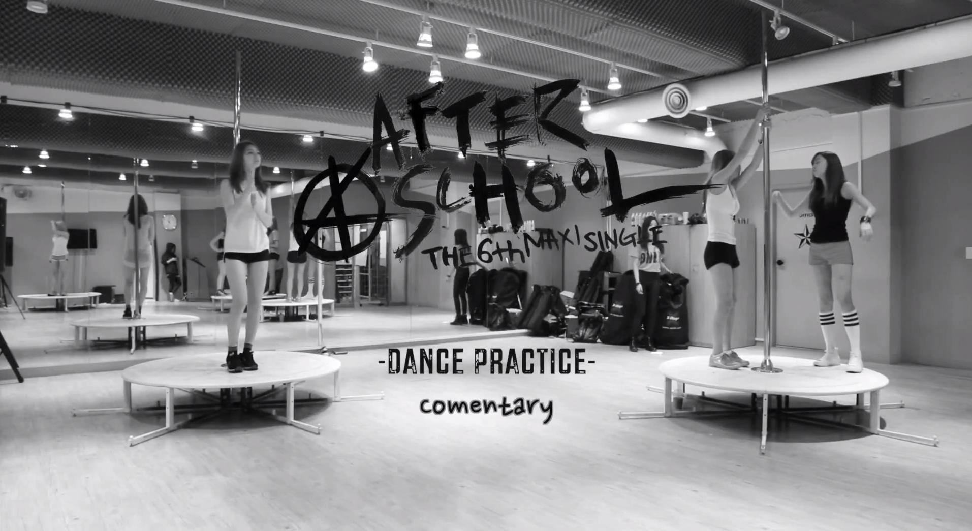 after school dance practice