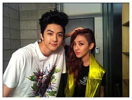 2NE1's Sandara Park and MBLAQ's Thunder: Who's the Real Dongseng?