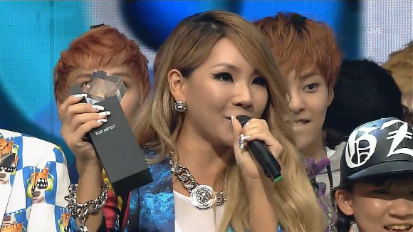 "SBS Inkigayo 06.09.13 – CL's ""The Baddest Female"" Wins"