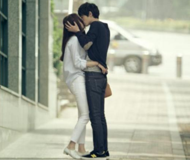 jung joon young lee chung ah kiss
