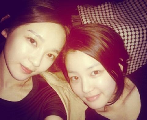 lee yoo bi kang min kyung instagram