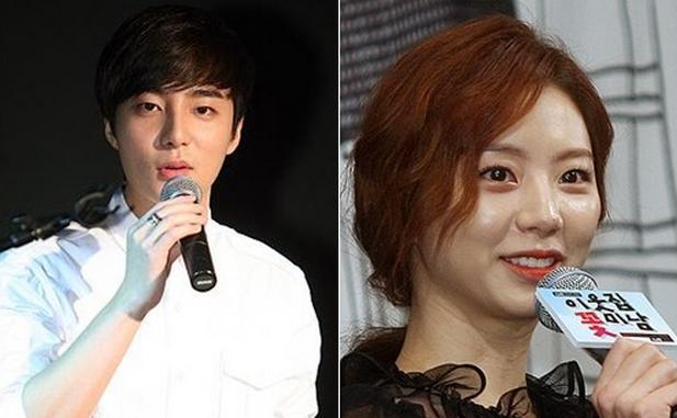 roy kim and park soo jin dating rumor