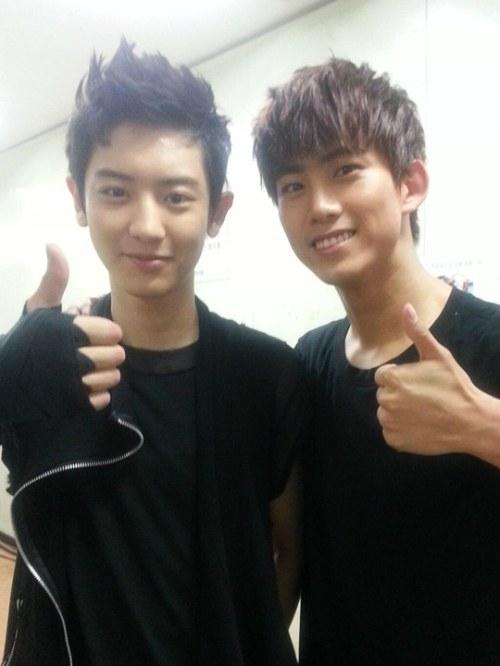 taecyeon and chanyeol