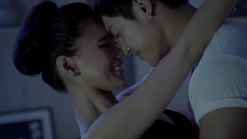 "Kim Hyun Joong Gets Physically Intimate With Lover in ""Your Story"" MV"