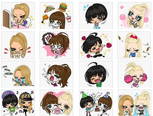 2ne1 stickers