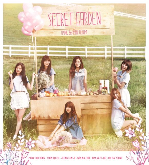 A Pink secret garden image