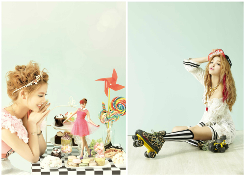 Ailee is a Doll in New Album Concept Photos