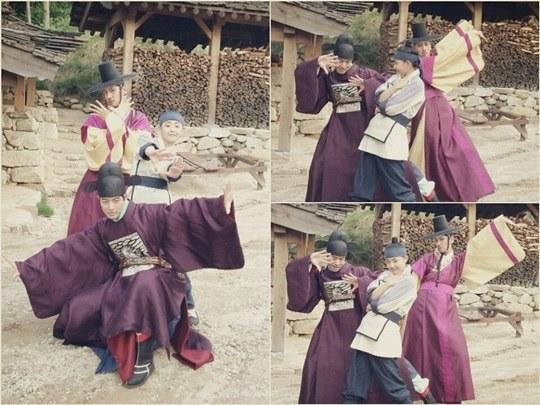 Moon Geun Young, Lee Kwang Soo, Lee Sang Yoon, Goddess of Fire ALL