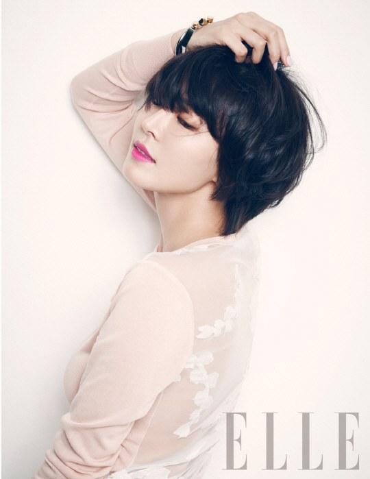 kim so yeon for elle