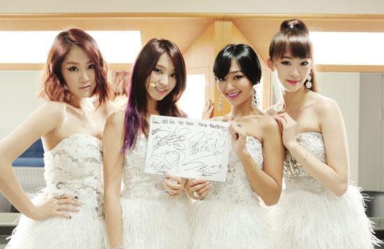 Weekly K-Pop Music Chart 2013 – July Week 1