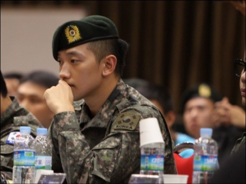 Rain to be Discharged from Military on Schedule