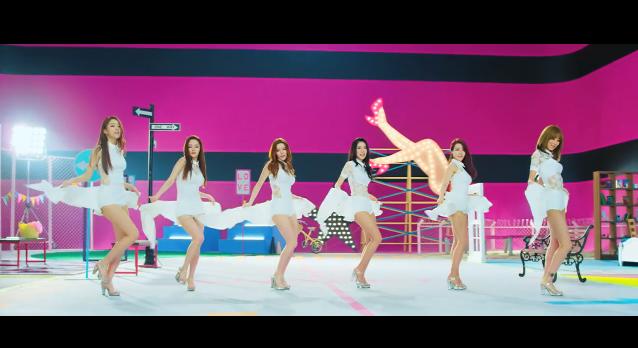 dal shabet be ambitious dance move