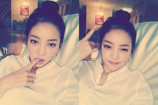 Goo Hara Complains of Boredom with Recent Selca