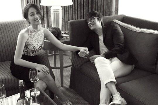 lee byung hun and lee min jung wedding pics 1