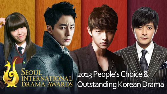 "[Announcement] Vote for Your Favorite Dramas and Celebs to Win ""Seoul International Drama Awards 2013"""