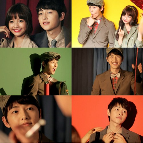 Song Joong Ki and Ha Yeon Soo
