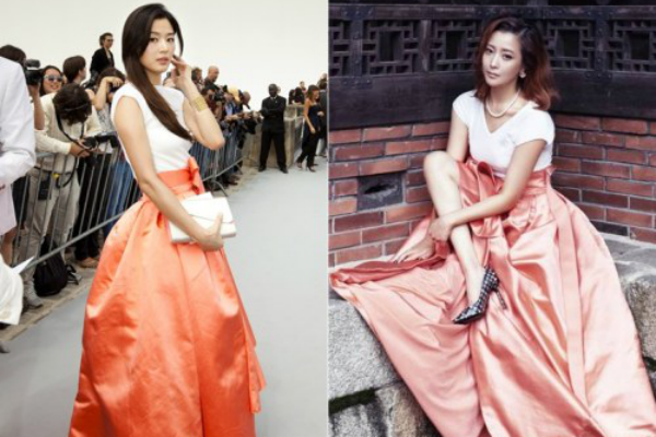 Who Wore It Better? Jun Ji Hyun vs. Kim Hee Sun in Christian Dior