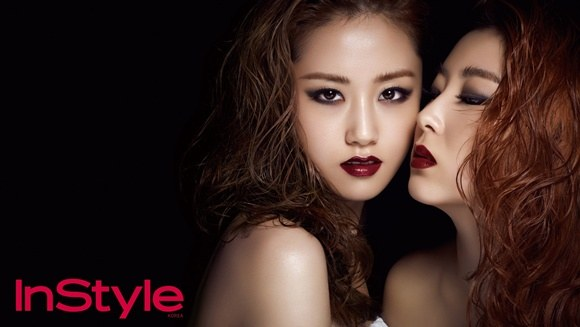 4Minute's Gayoon and Sohyun Keep the Focus on Their Luscious, Lavish Lips