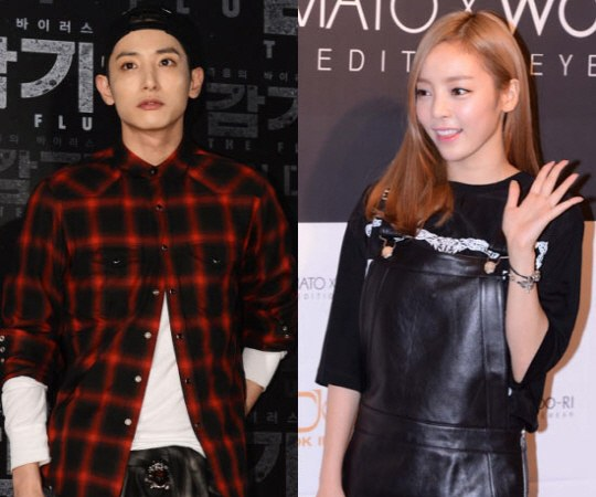 ukHara and Lee soo Hyuk