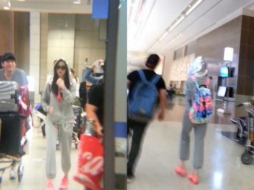 Seohyun in airport