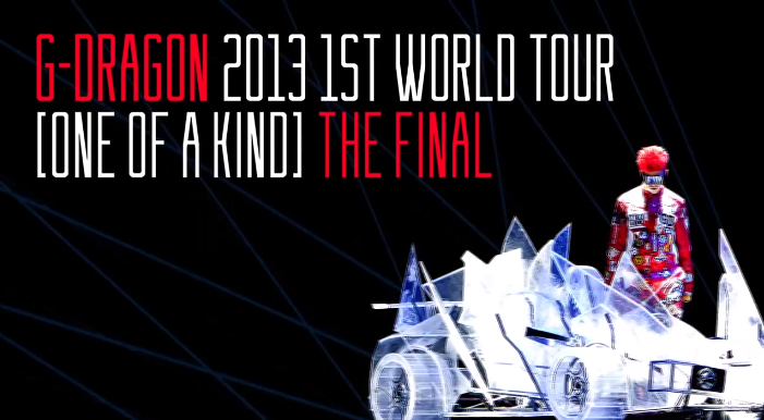g-dragon one of a kind the final