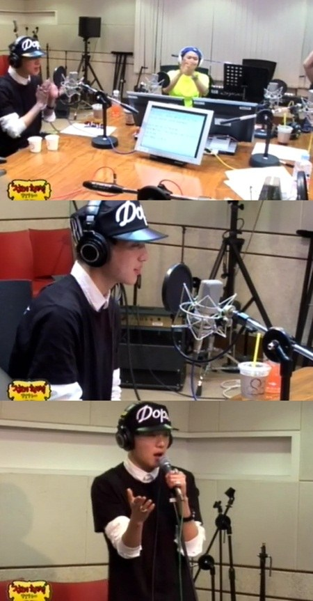kang seung yoon radio 080613