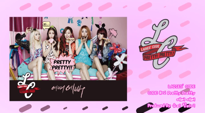 ladies code pretty pretty audio