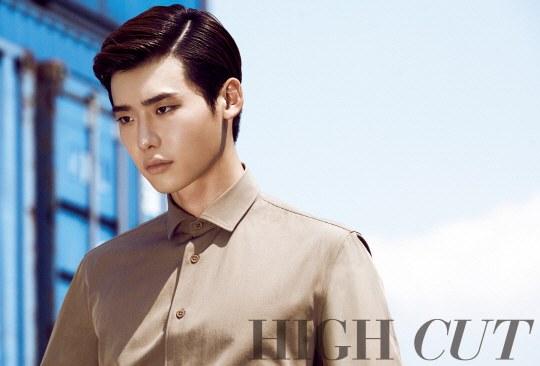 lee Jong suk high cut 2