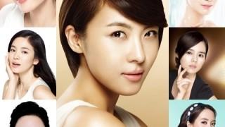30s korean cosmetic model