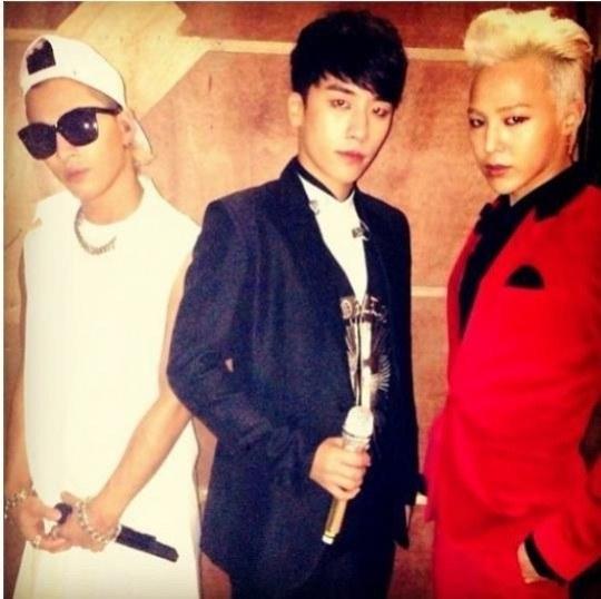 G-Dragon, Taeyang, Seungri