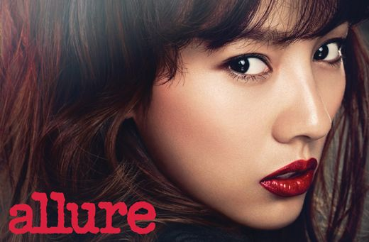 "Lee Hyori Is Both Fierce and Lovely for ""Allure"""
