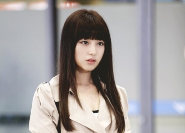 "Kim Ji Won as Rachel in ""The Heirs"""