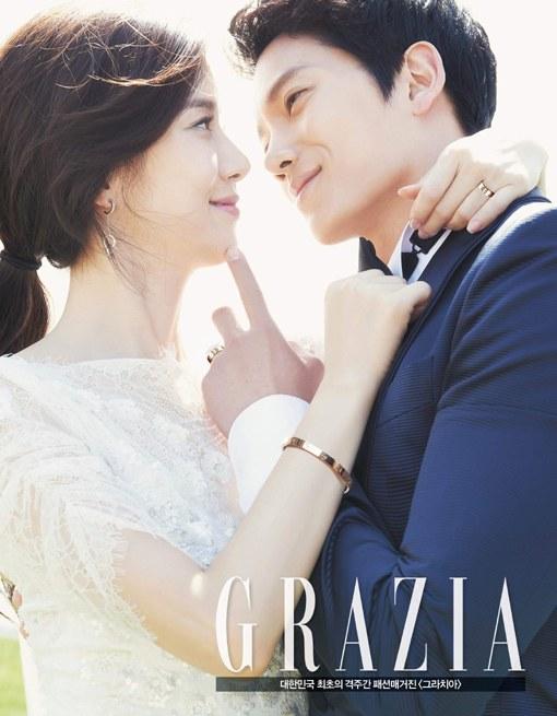 Lee Bo Young Ji Sung Grazia 4