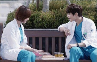 Minho and Oh Yeon Seo in Medical Top Team - Copy