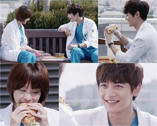 Minho and Oh Yeon Seo in Medical Top Team